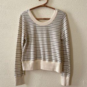 LAmade Striped Sweatshirt S